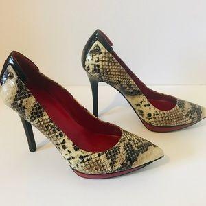 Guess Shoes - Guess | Snake Skin Printed Heels